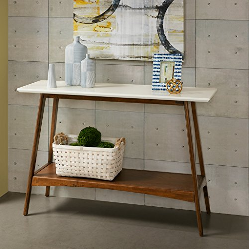 Parker Console White/Pecan See below by Madison Park