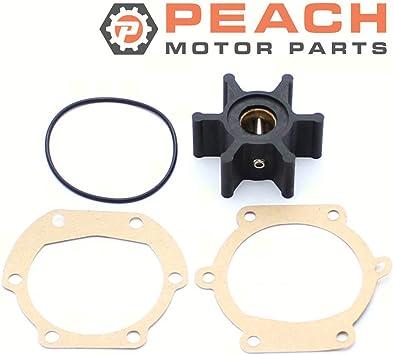 875808 Impeller Replaces Volvo Penta # 22222936