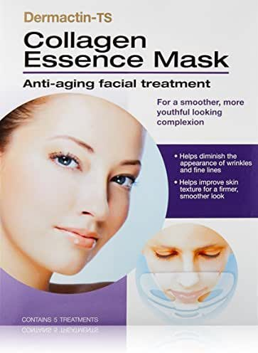 Dermactin-TS Collagen Essence Mask, 5 Count by Dermactin