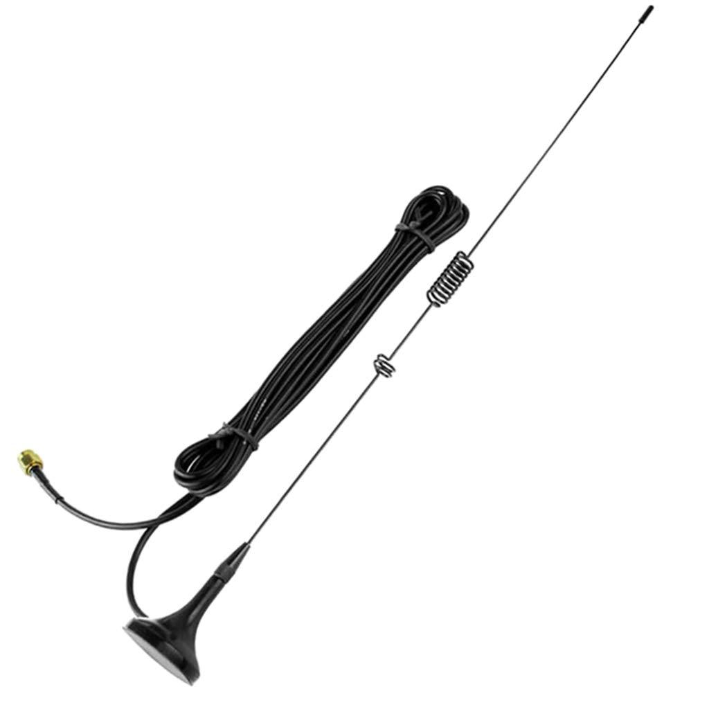 KESOTO Antena De Banda Dual UT-106UV SMA-M VHF/UHF 144 / 430MHz para UV-5R 5RA 5RB 5RC 5RD