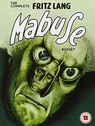The Complete Fritz Lang Mabuse Box Set [Reino Unido] [DVD]