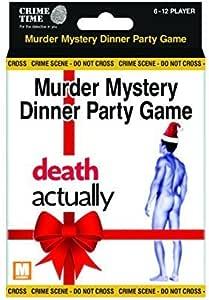 Muerte En realidad - Misterio de asesinato regalo caja - para descargar juego para 6,8,10 o 12 jugadores: Amazon.es: Juguetes y juegos