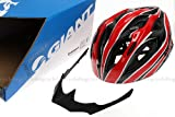 GIANT Helmet Road Bike MTB Cycling Helmet Size M/L 54cm-58cm Red Black