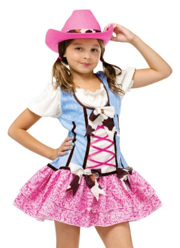 Rodeo Sweetie Girls Costume (Size 4-6)