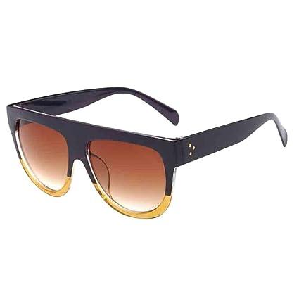 Gafas de sol hombre mujer polarizadas gafas de sol Unisex Cuadrados Vintage Espejo sunglasses retro de