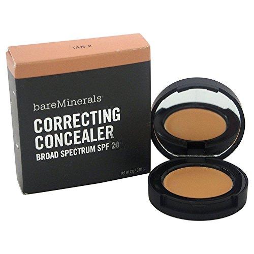 Bare Escentuals bareMinerals Correcting Concealer Broad Spectrum SPF 20 Tan 2 Full Size 2 g / 0.07 oz. In Retail Box