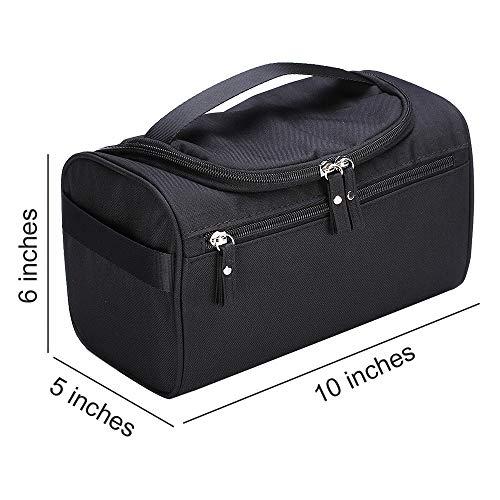 with Shower Travel Toiletry Hook Hanging Bag Handy Black Travel Rain Bag Lucky tE8qwYg