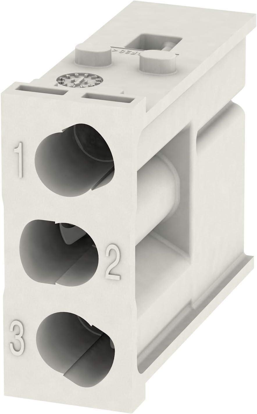 HDC MHX 3 MC PLUG HEAVY DUTY MODULE Pack of 5 16-8AWG, 3POS