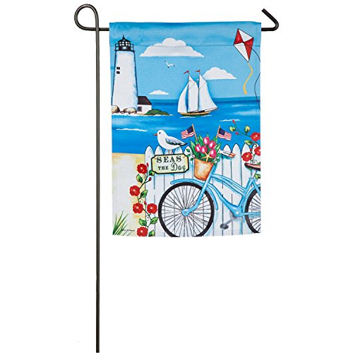 patriotic bicycle sea safe double