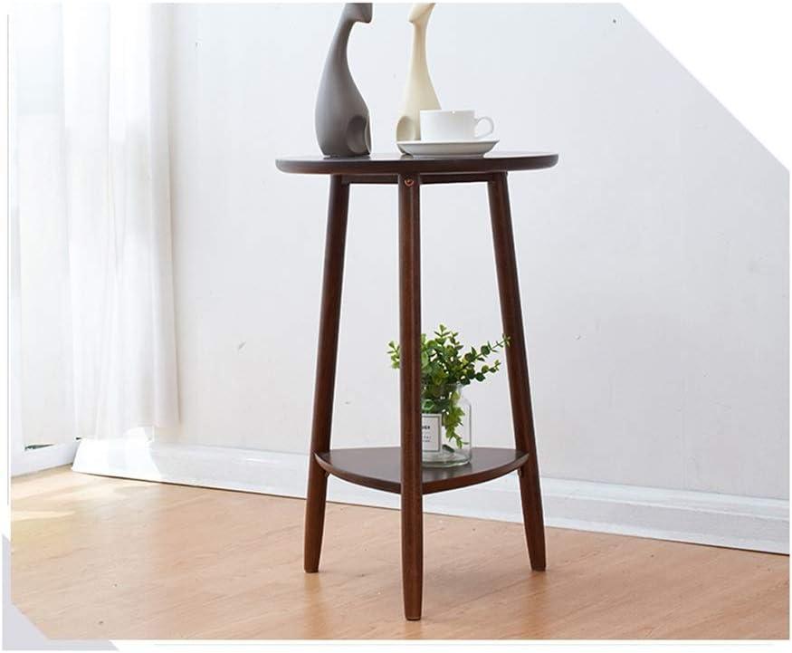 Verbazingwekkend Nordic Bank Side Ronde Koffietafel Paar Eenvoudige Modern Solid Wood Side Table Koffietafels For Living Room Mini Side Table 4.11 (Color : Brown) Brown fn1R8XJ
