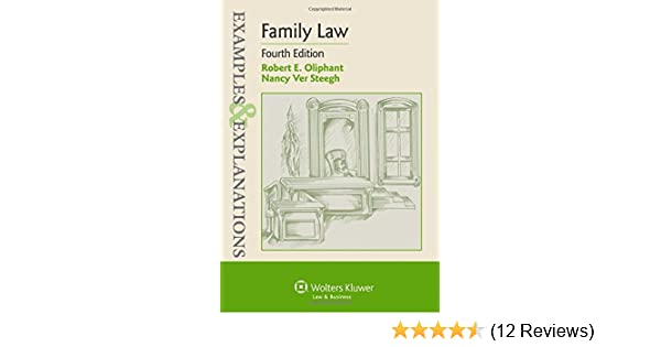 Family law examples & explanations: robert e. Oliphant, nancy ver.