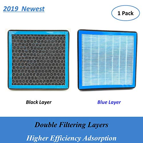 Replacement for CP285,CF10285, Double Filtering Cabin Air Filter for Toyota/Lexus/Subaru