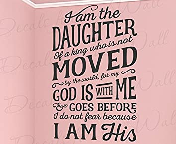 Amazoncom I Am The Daughter Of A King Who Is Not Moved By The