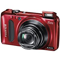 Fujifilm Finepix F660EXR 16.0 MP CMOS 1080P HD Digital Camera (Red)