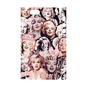 Marilyn Monroe Quote DIY 3D Phone Case for Iphone 5,5S,Marilyn Monroe Quote custom 3d phone case