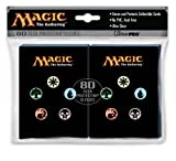 Utra Pro The Magic the Gathering (MTG) MANA SYMBOLS Back Deck Protectors (80 Sleeves)