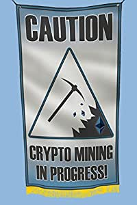 Apedes Crypto Mining Ethereum - Bandera para garaje de 2 x 3 pies
