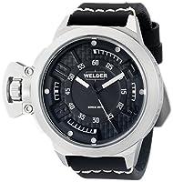Welder Unisex 3608 Analog Display Quartz Black Watch by Welder