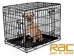 RAC Dog Cage - Metal, 2 Doors, foldin...