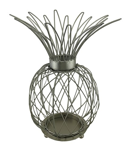 """15-1/4"""" Pineapple Candle Holder"""