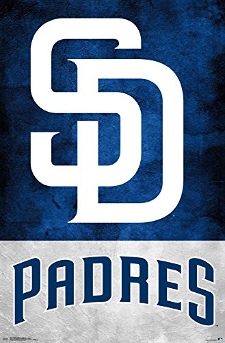 Trends International San Diego Padres - Logo Wall Poster, 22.375