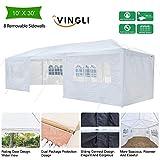 VINGLI 10' x 30' Upgraded Outdoor Canopy Wedding