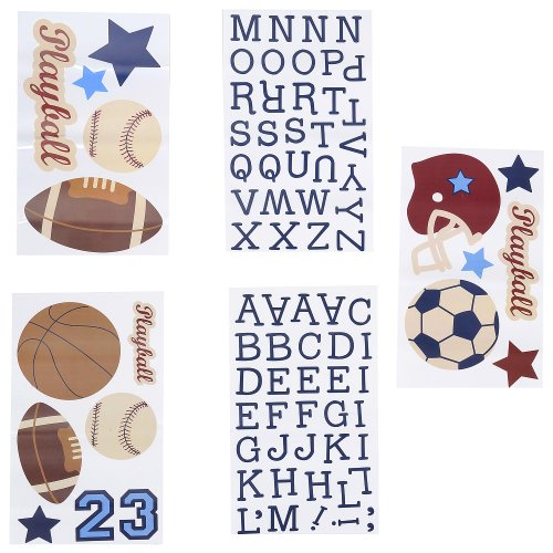NoJo Play Ball Sports Decals