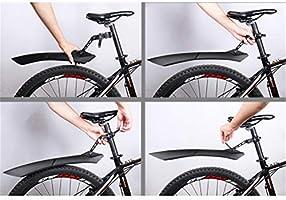 Conjunto de guardabarros de bicicleta Material de resina Conjunto ...