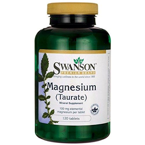 Swanson Magnesium Taurate Milligrams Tabs