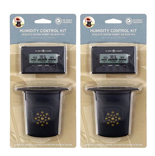 Planet Waves Acoustic Guitar Humidifier w/HTS (2 Pack)