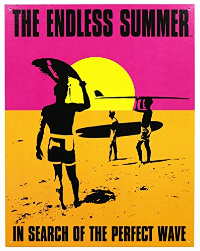 Endless Summer - Poster Metal Tin Sign 12.5