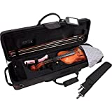 Protec TRAVEL LIGHT VIOLIN PRO PAC-BLACK