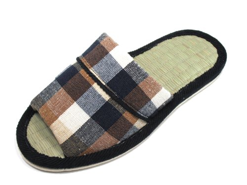 INDOOR ASIAN TATAMI UNISEX KNP21204T PLAID SLIPPERS CLASSIC Navy CPzq1WwxZn