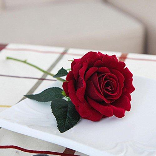 YJYdada-5-Pcs-Artificial-Silk-Fake-Flowers-Rose-Flower-Wedding-Bouquet-Party-Home-Decor-D