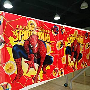 Partymane Kids Spiderman Theme Table...