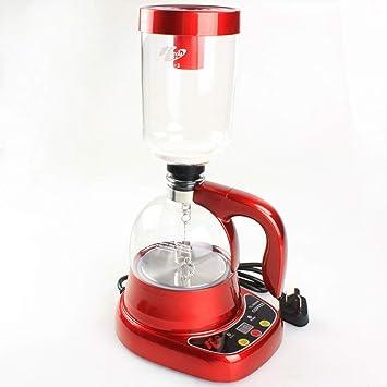 Aparato De Café Para Uso Doméstico Con Cafetera De Sifón Eléctrico, Material De Vidrio, Dos Modos, Temporización Automática Se Puede Reservar: Amazon.es: ...