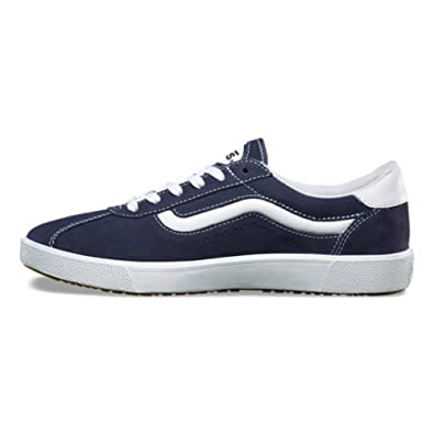 dc4198dc473e Image Unavailable. Image not available for. Color  Vans Wally 3 Varsity  Sport  73 Navy True White Men s ...