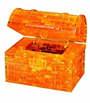 Original 3D Crystal Puzzle - Treasure Chest Gold
