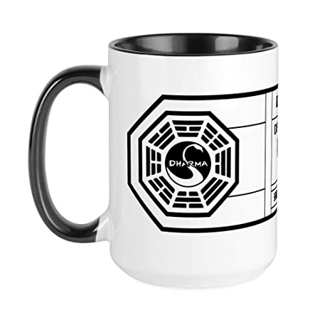 Drinking Glass 16 oz CafePress Dharma Initiative Beer Glass Pint Glass