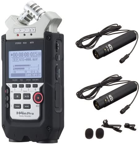 Amazon Com Zoom H4n Pro 4 Channel Handy Recorder Bundle With Mxl