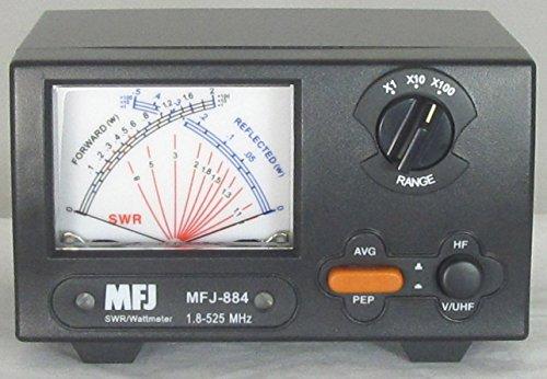 MFJ-884 MFJ884 Original MFJ Enterprises 200 W 1.8-525 MHz Cross Needle - Meter Cb Match