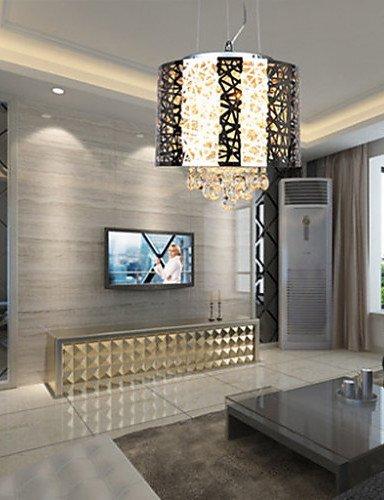 DXZMBDM® 71w-80w Traditionell-Klassisch Kristall Korrektur Artikel Metall Kronleuchter Wohnzimmer / Schlafzimmer / Studierzimmer/Büro , 220-240v-silvery