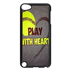 Brand New Case for iPod touch5 w/ I Like Baseball image at Hmh-xase