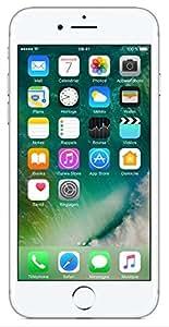 "Apple iPhone 7 - Smartphone con pantalla de 4.7"" (Wi-Fi, Bluetooth, 128 GB, 4G, cámara de 12 MP, iOS) plata"