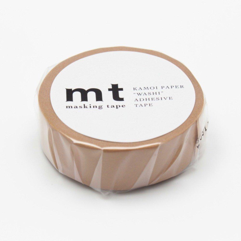 MT Solids Washi Paper Masking Tape, 3/5 x 33', Matte White (MT01P208) 3/5 x 33' MT Tape