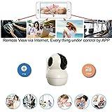 EYEKOP 720P WiFi Wireless IP Security Camera, Pan Tilt Night Vision Baby Monitor Nanny Cam with 2 Way Audio C3