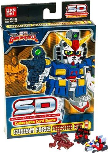 SD Gundam Force Starter Set 1 Collectable Card Game