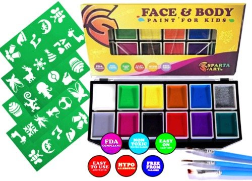 Professional X Large Vibrant Palette Painting product image