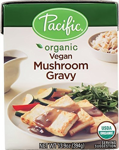 Pacific Organic Vegan Mushroom Gravy, 13.9oz 2-pack by Pacific -