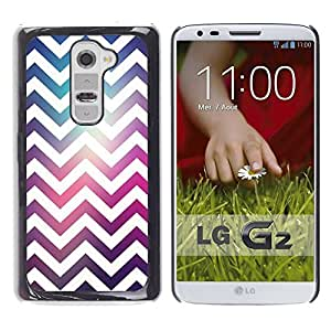 Be Good Phone Accessory // Dura Cáscara cubierta Protectora Caso Carcasa Funda de Protección para LG G2 D800 D802 D802TA D803 VS980 LS980 // Zag White Disco Party Pattern